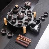 春季上新 宜興紫砂功夫茶具套裝紫砂茶具套組整套手工陶瓷茶壺茶杯蓋碗家用