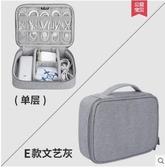 數碼收納袋 數據線收納包數碼移動硬盤保護套充電器配件整理袋耳機盒多功能 城市科技