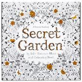 英文秘密花園正版成人減壓學生填色本涂色書畫冊涂鴉線裝平鋪-