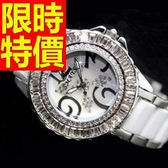 陶瓷錶-好搭浪漫典雅女腕錶56v3【時尚巴黎】