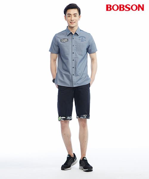 BOBSON  男款雙面穿短褲(233-87)