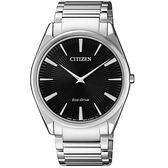 CITIZEN 輕薄時尚光動能腕錶/AR3071-87E