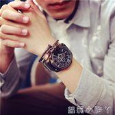 手錶男士時尚潮流大錶盤潮牌男生超大潮男錶青少年中學生個性潮錶 igo全館免運