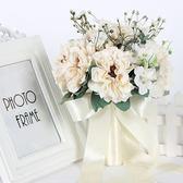 婚紗攝影道具手捧花白色