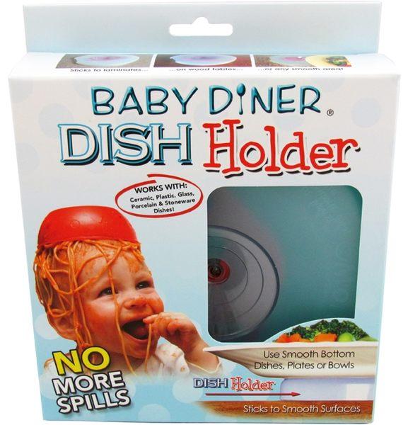 美國 Lil Diner Baby diner Dish Holder 幼兒用餐強力吸盤架