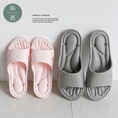 浴室拖鞋男夏季情侶家居防滑厚底按摩涼拖鞋