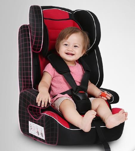 新年鉅惠兒童安全座椅汽車用嬰兒寶寶簡易便攜式增高坐椅子9個月-12歲通用 東京衣櫃