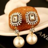 耳環 玫瑰金純銀鑲鑽-奢華非凡生日情人節禮物女飾品73ca63【時尚巴黎】