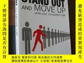 二手書博民逛書店STAND罕見OUT AND MOVE UP while you