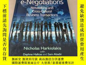 二手書博民逛書店罕見e-Negotiations:Y28718 Daphne H