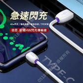 Baseus倍思 紫環Type-C快充數據線捷速 安卓充電線 Super快充線 閃充線