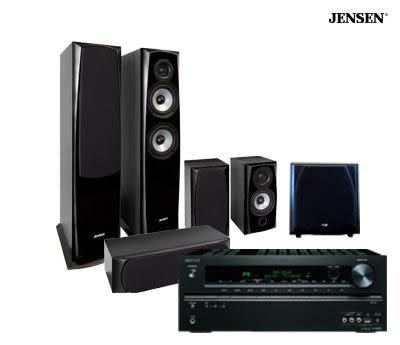 ONKYO TX-NR676 + JENSEN X-5/X-11/X-3 + JBL P10SW 重低音 十萬元內最佳劇院組合