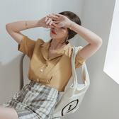 IN'SHOP輕柔膚四釦短袖襯衫-共3色【KT221409】