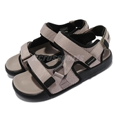 Skechers 涼鞋 Gambix 2.0-Inrush 灰 黑 男鞋 輕量 避震 魔鬼氈 【ACS】 237292TPBK