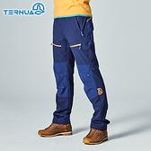 【西班牙TERNUA】男Shellstretch拼接保暖褲1273380 / 城市綠洲(防潑水、排汗快乾、耐磨)