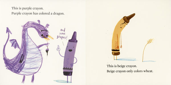 【Oliver Jeffers】THE CRAYONS' BOOK OF COLORS/硬頁書《主題:顏色.想像》