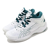 Asics 籃球鞋 GelBurst 25 男 白 綠 高筒 包覆 日系 亞瑟士 【ACS】 1063A032103