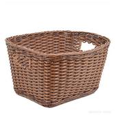 【預購】CB JAPAN 巴黎系列仿藤編洗衣籃S│兩色深棕色