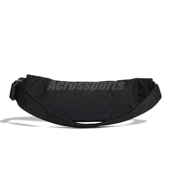 adidas 腰包 Adicolor Trefoil Waist Bag 黑 金 男女款 斜背包 運動休閒 【ACS】 FT8917