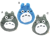【卡漫城】 龍貓 絨毛 零錢包 藍灰 三選一 宮崎駿 Totoro 豆豆龍 拉鍊式 票卡包 小物收納包