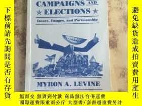 二手書博民逛書店preidential罕見campaigns and elect