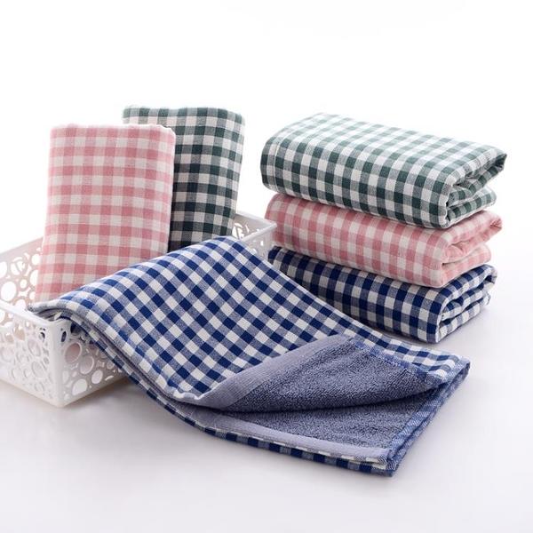 洗臉毛巾雙面用吸水加大加厚家用毛巾【聚寶屋】