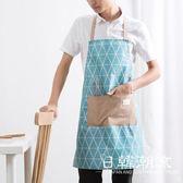 手套/圍裙 居家家 防水圍裙情侶防油做飯掛脖圍腰 廚房成人無袖時尚家居罩衣