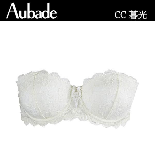 Aubade-暮光B-D待嫁蕾絲可拆肩帶內衣(新娘款)CC