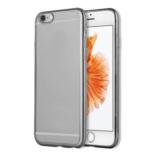 88柑仔店--OPPO R9 R9S手機殼R9Plus保護套R9SPlus防摔硅膠透明電鍍軟殼簡約
