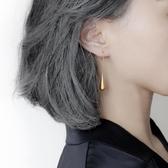 耳飾女 耳環新款潮水滴耳墜耳飾金色的耳環女耳線ins耳釘【免運直出】