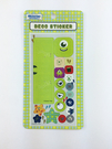 【收藏天地】迪士尼系列*裝飾貼紙-單眼怪/  文創 送禮 卡通 可愛 裝飾 禮品