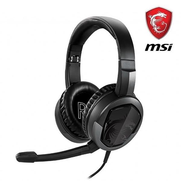 【南紡購物中心】電競限量促銷 MSI微星 Immerse GH30 V2 耳罩式電競耳機