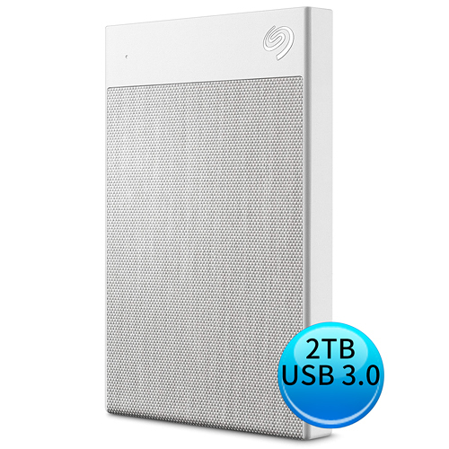 Seagate Backup Plus Ultra Touch 2TB USB3.0 Type-C 2.5吋 外接硬碟 晨霧白 STHH2000301