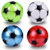 5號足球 PVC橡膠無毒充氣彈力拍拍皮球8.5寸幼兒園專用兒童玩具球       俏女孩