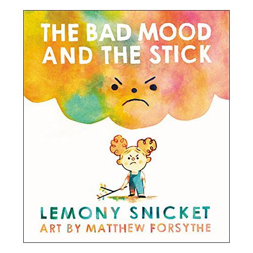 麥克書店The Bad Mood and the Stick情緒管理英文圖畫童書