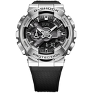 CASIO 卡西歐 重金屬工業風雙顯錶-...