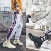 登山鞋 秋季男士低筒鞋子透氣跑步鞋休閒鞋韓版潮流戶外運動鞋嘻哈網面鞋 交換禮物