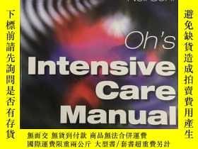 二手書博民逛書店Oh s罕見Intensive Care Manual (Sis