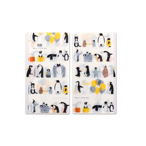 日本 Prairie Dog 抗菌口罩夾/企鵝家族