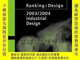 二手書博民逛書店Ranking:罕見Design 2003-2004 - The