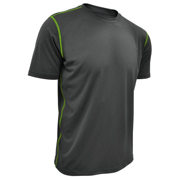 吸濕排汗衣 運動短袖T恤 極致輕量NCAA(灰色)