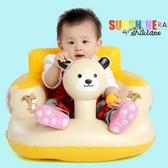 寶寶學座椅 兒童充氣小沙發嬰兒音樂學坐椅便攜式餐椅浴凳可折疊 『居享優品』