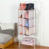 618大促 百屋收納袋掛袋衣柜衣櫥布藝雜物收納懸掛多層掛兜手機包包襪子架 百搭潮品