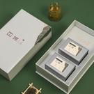 2021鑒賞高檔白茶包裝盒空禮盒罐125g安吉白茶通用茶葉禮盒裝空盒