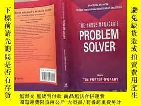 二手書博民逛書店THE罕見NURSE MANAGER'S PROBLEM SOL