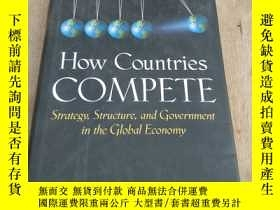 二手書博民逛書店How罕見Countries Compete: Strategy