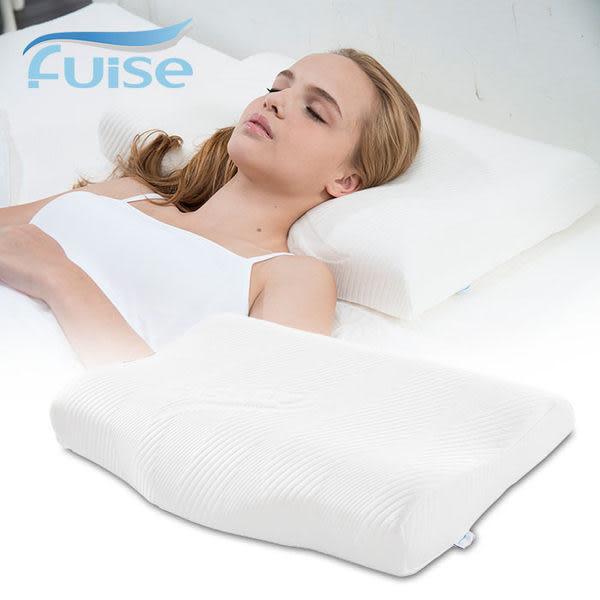 頂級釋壓 親水記憶枕 肩頸款 天絲棉寢具 防螨抗菌記憶枕  Fuise芙依絲