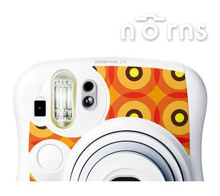 Norns MINI25 專用FUJIFILM富士原廠拍立得相機機身貼紙 【Sunshine款】Norns