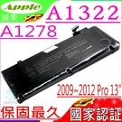 APPLE A1322 電池(國家認証)-蘋果 A1278, 2012年,MD101,MD102,MacBookPro9.2,MB991,MC700,MC724,MB990J