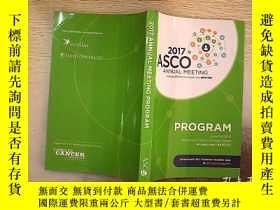 二手書博民逛書店2017罕見ANNUAL MEETING PROGRAM 201